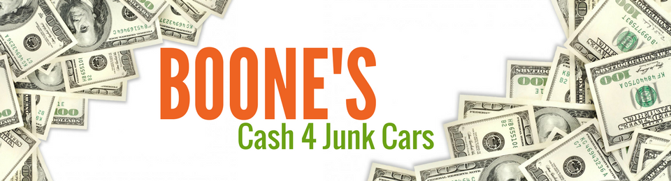 Boone's Cash 4 Junk Cars